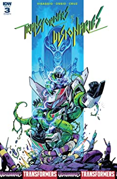 Transformers vs. The Visionaries #3