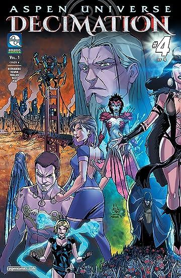 Aspen Universe: Decimation Vol. 1 #4