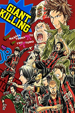 Giant Killing Vol. 8