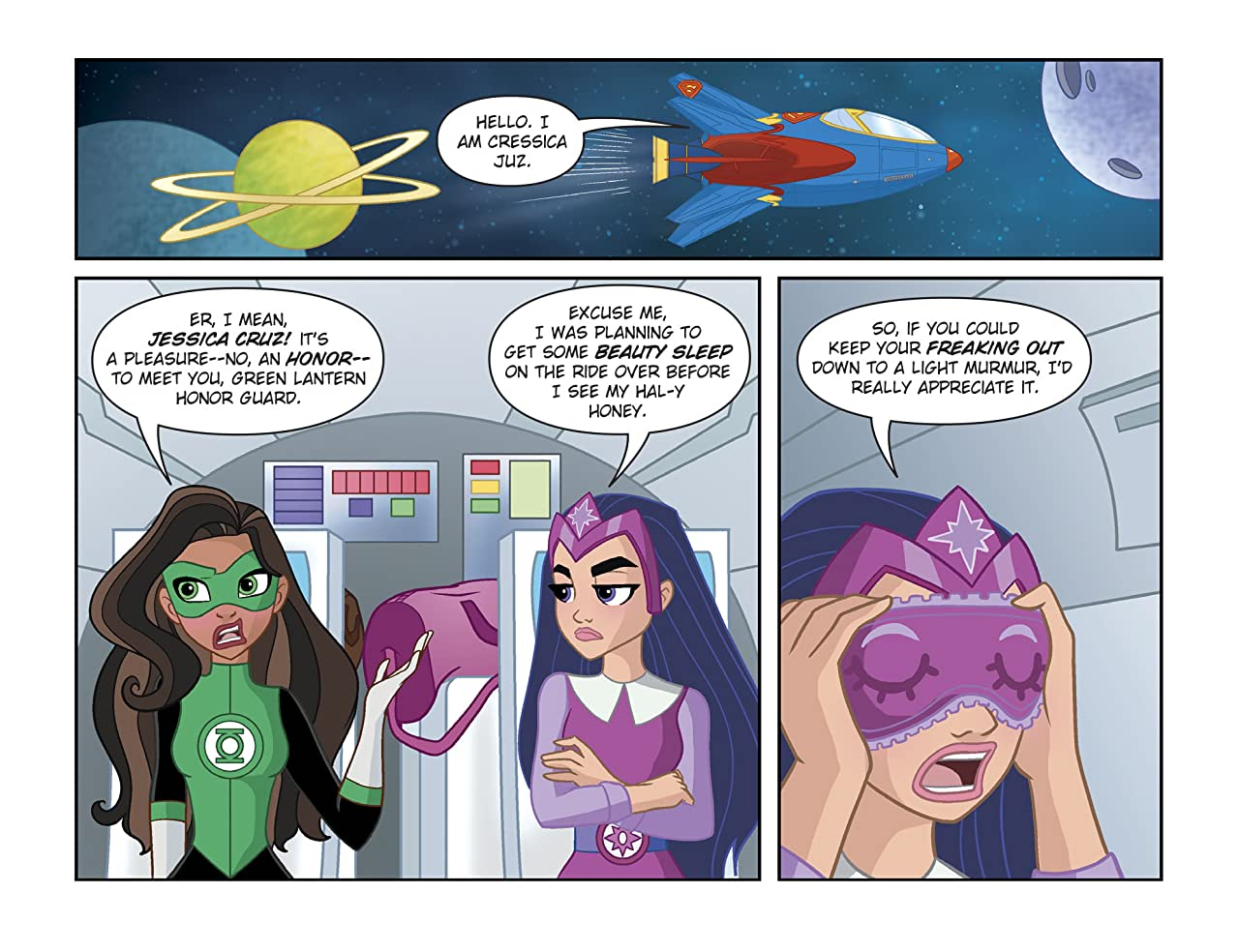 DC Super Hero Girls: Spaced Out (2017-2018) #2