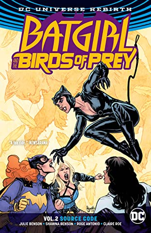 Batgirl and the Birds of Prey (2016-) Tome 2: Source Code