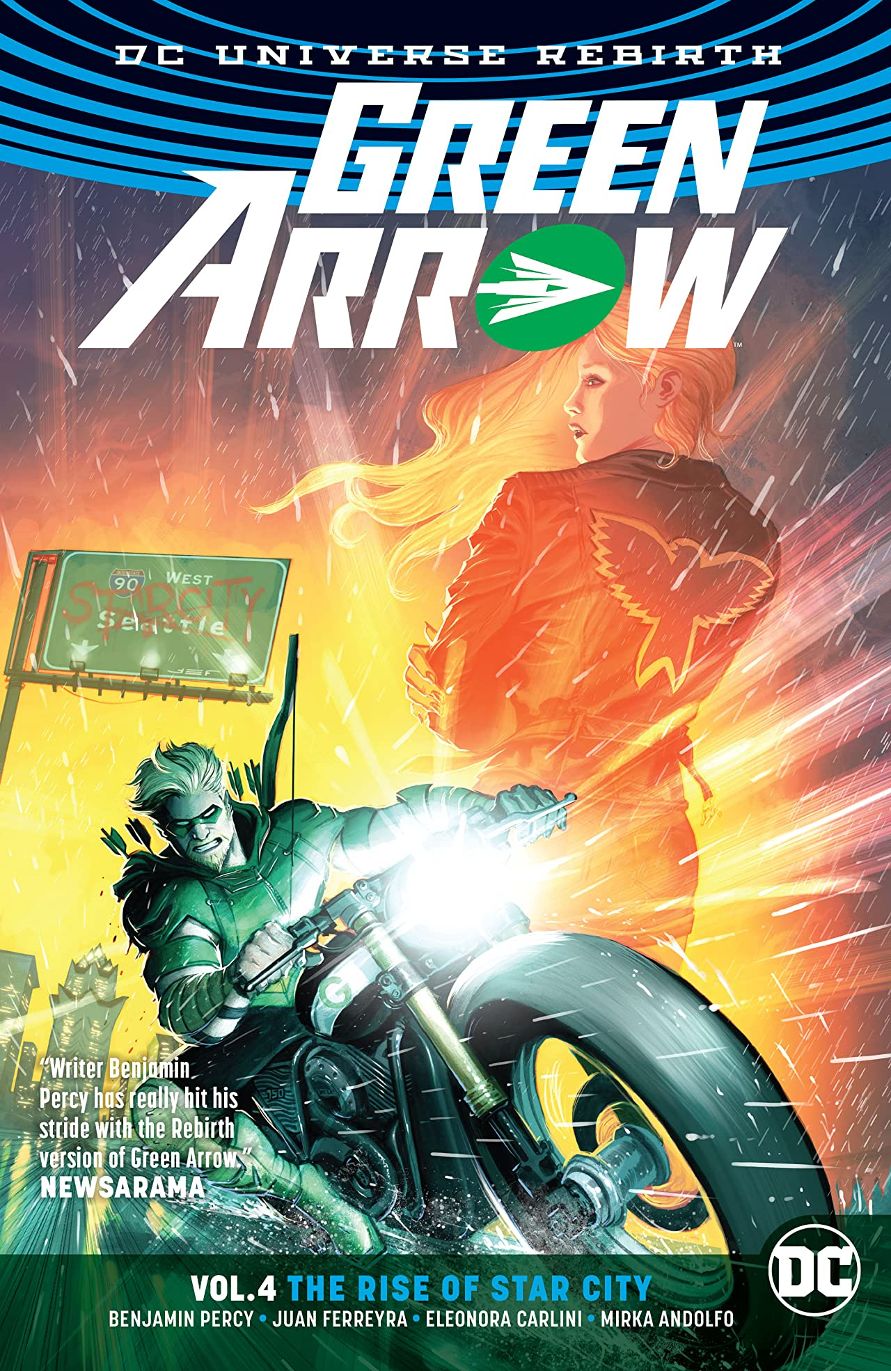 Green Arrow (2016-2019) Vol. 4: The Rise of Star City