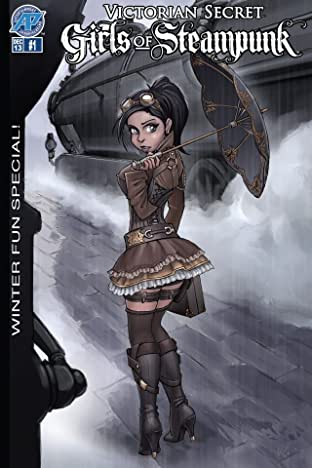 Victorian Secret: Girls of Steampunk - Winter Fun Special! #1