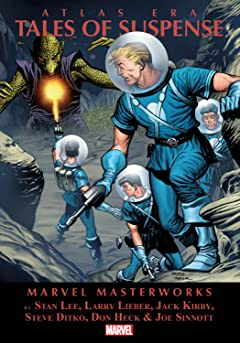 Atlas Era Tales of Suspense Masterworks Vol. 1