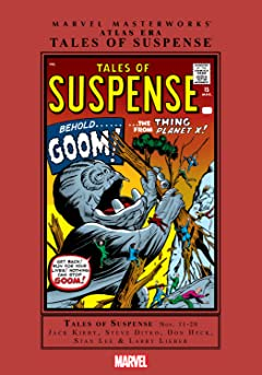 Atlas Era Tales of Suspense Masterworks Vol. 2