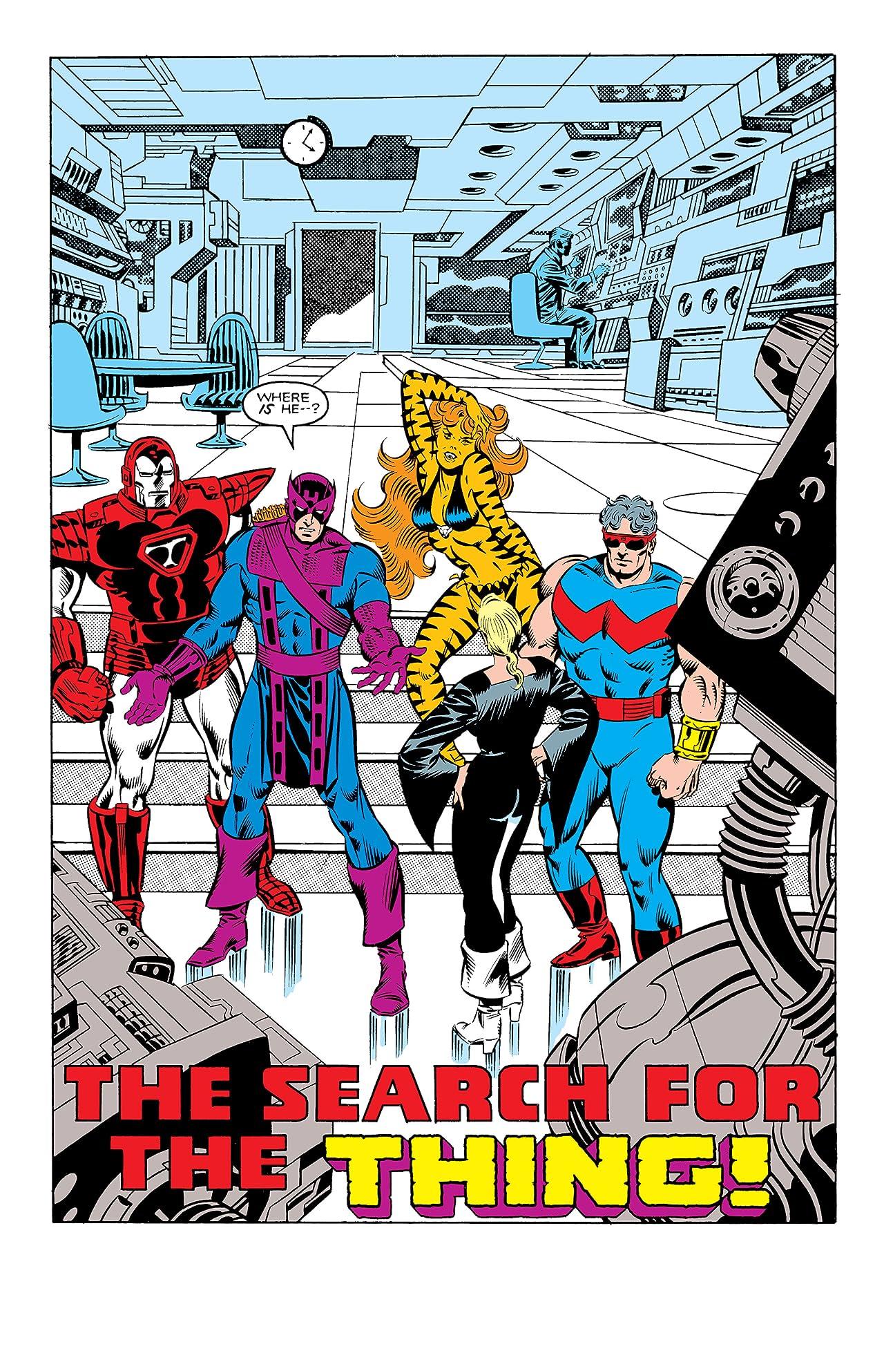 Avengers: West Coast Avengers - Sins of the Past