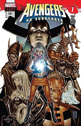 Avengers (2016-2018) #681