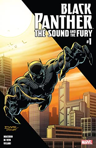 Black Panther: The Sound And The Fury (2018) No.1