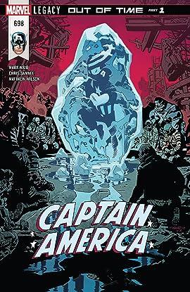 Captain America (2017-2018) #698