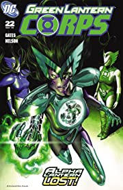 Green Lantern Corps (2006-2011) #22