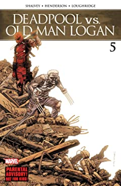 Deadpool vs. Old Man Logan (2017-2018) No.5 (sur 5)
