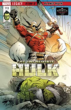 Incredible Hulk (2017-2018) #713