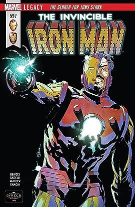 Invincible Iron Man (2016-2018) #597