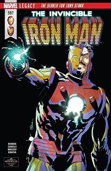 Invincible Iron Man (2016-) #597