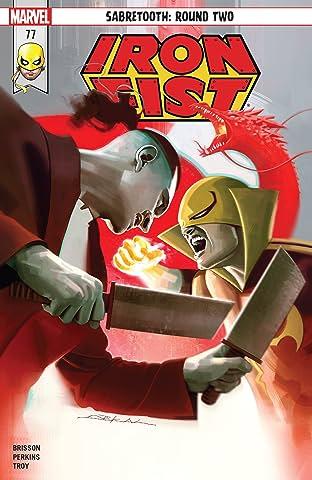 Iron Fist (2017-2018) #77