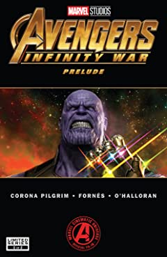 Marvel's Avengers: Infinity War Prelude (2018) #2 (of 2)