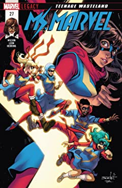 Ms. Marvel (2015-) No.27