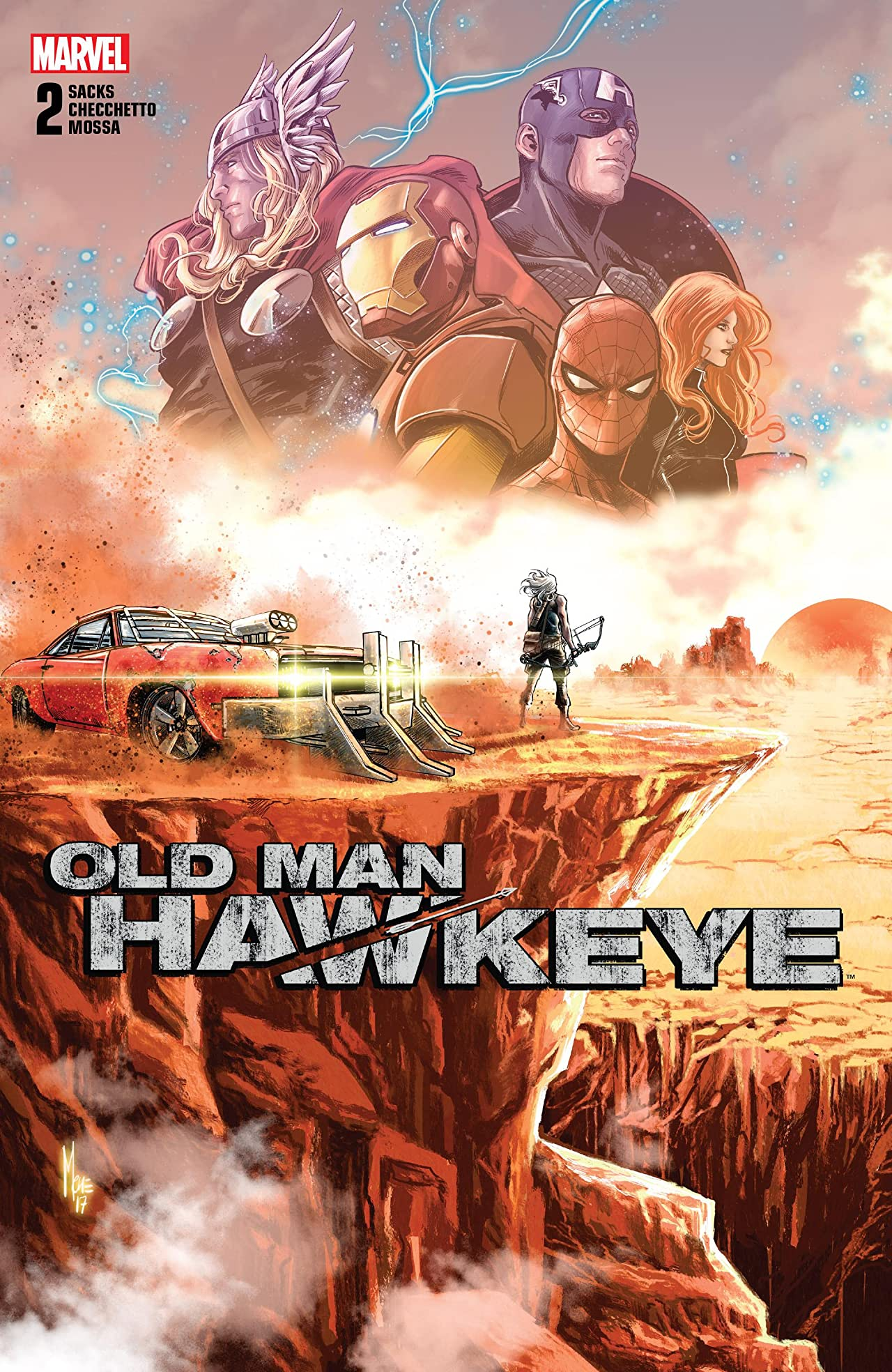 Old Man Hawkeye (2018-) No.2 (sur 12)