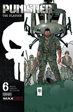 Punisher: The Platoon (2017-2018) No.6 (sur 6)