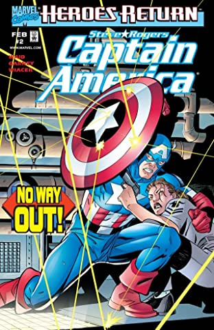 Captain America (1998-2002) No.2