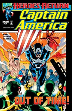 Captain America (1998-2002) No.3