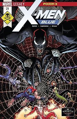 X-Men Blue (2017-2018) #21