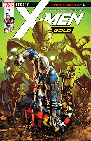 X-Men Gold (2017-2018) No.21