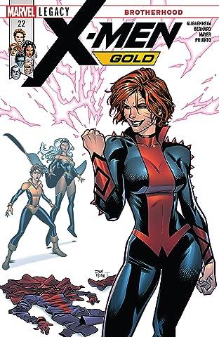 X-Men Gold (2017-) #22