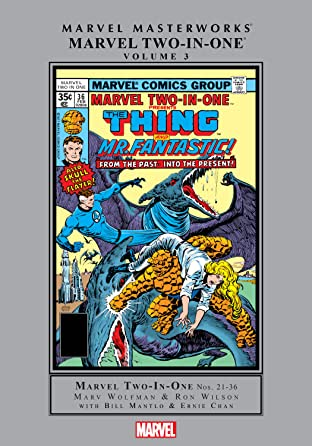 Marvel Two-In-One Masterworks Tome 3