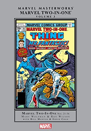 Marvel Two-In-One Masterworks Vol. 3