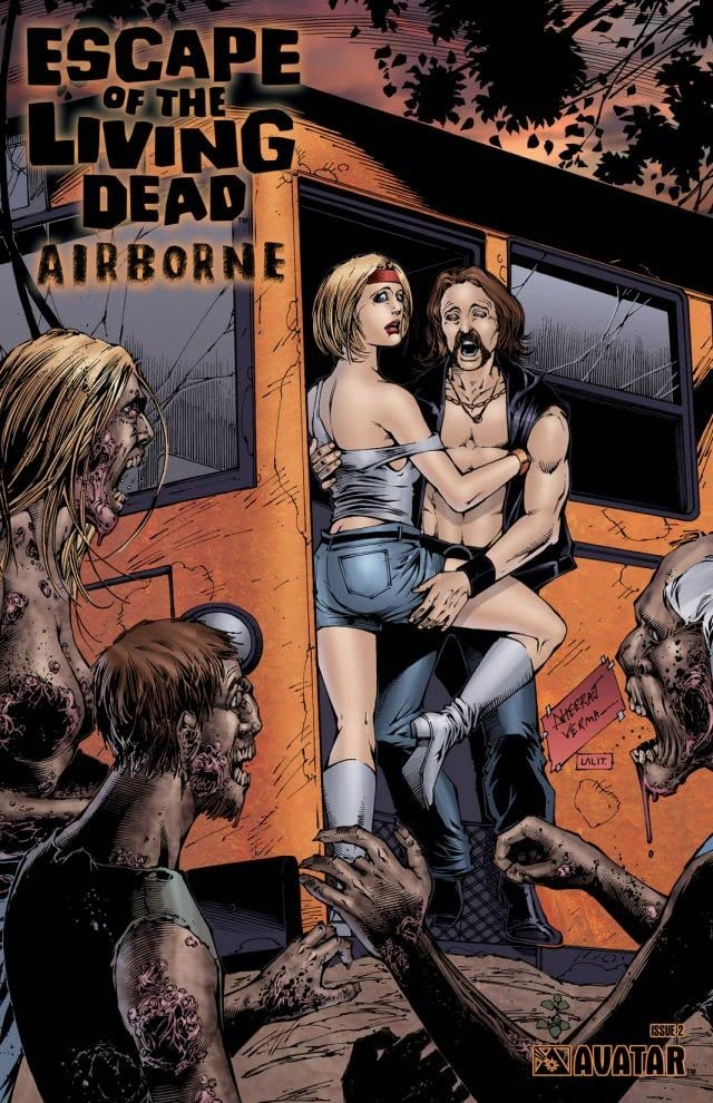 Escape of the Living Dead: Airborne #2