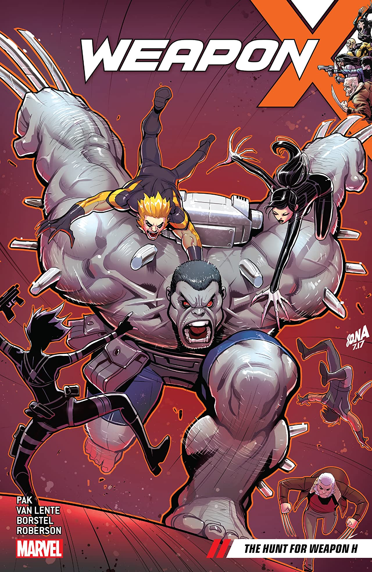 Weapon X Vol. 2: The Hunt For Weapon H