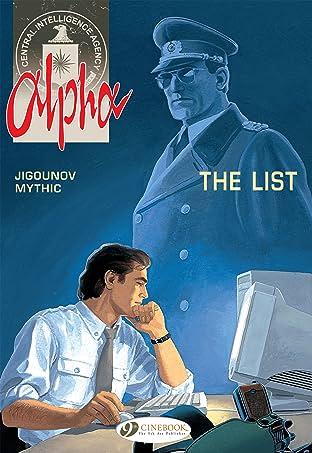 Alpha Tome 3: The List