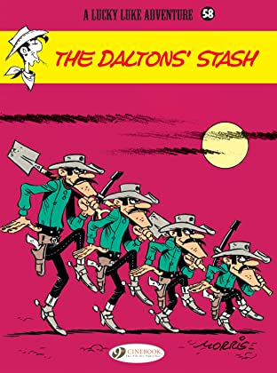 Lucky Luke Vol. 58: The Dalton's Stash