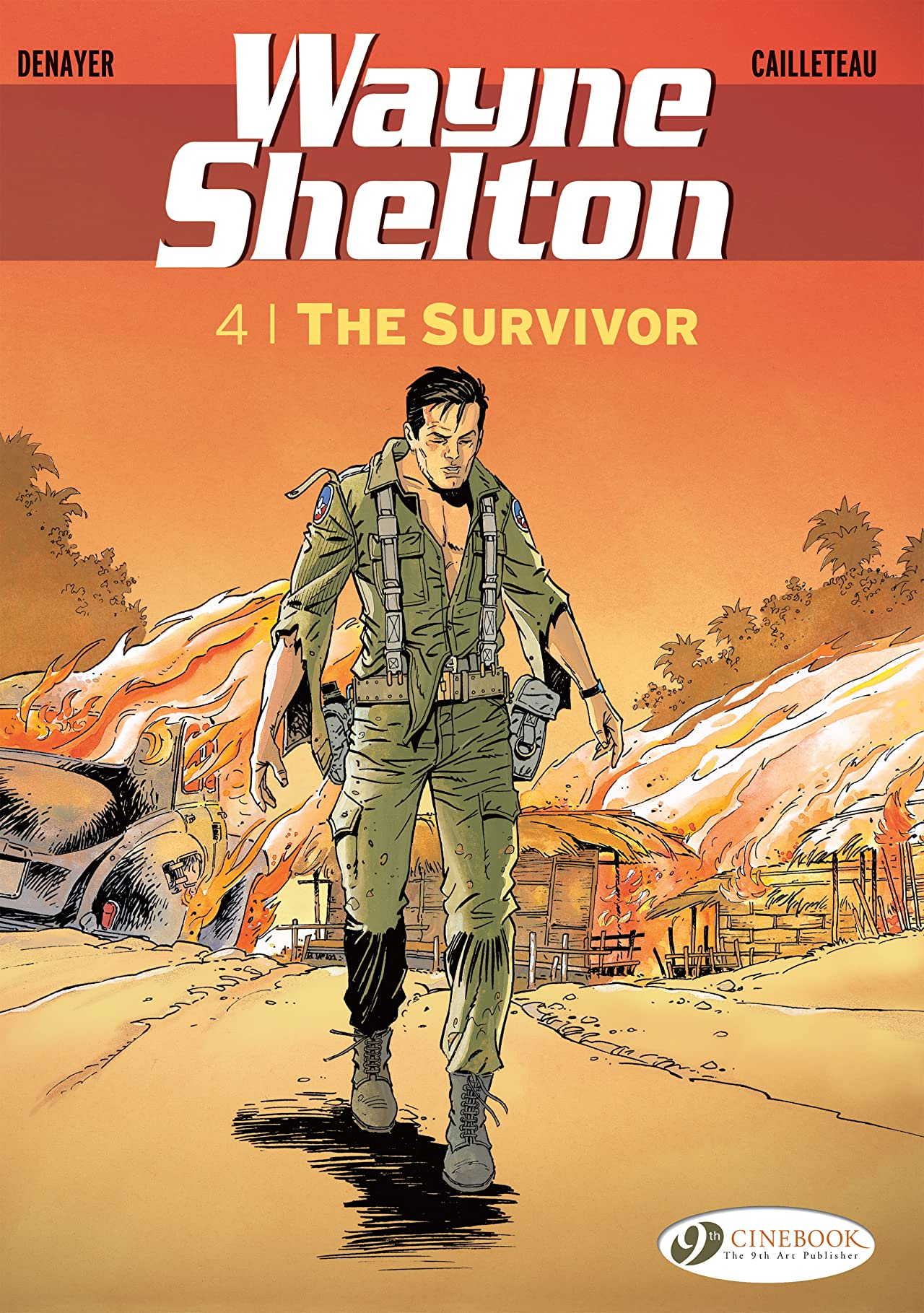 Wayne Shelton Vol. 4: The Survivor