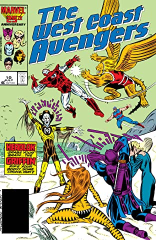 Avengers West Coast (1985-1994) No.10