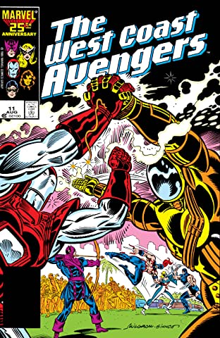 Avengers West Coast (1985-1994) No.11