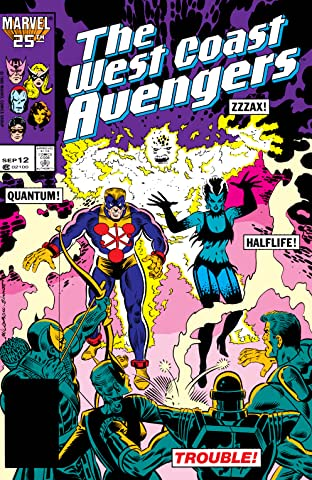 Avengers West Coast (1985-1994) No.12