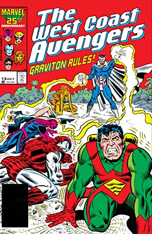 Avengers West Coast (1985-1994) No.13