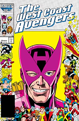 Avengers West Coast (1985-1994) No.14