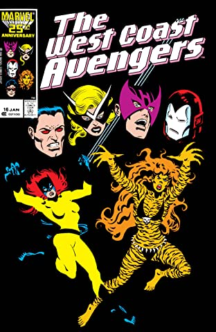 Avengers West Coast (1985-1994) No.16