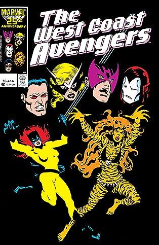 Avengers West Coast (1985-1994) #16