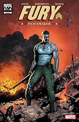 Fury Peacemaker (2006) #6 (of 6)