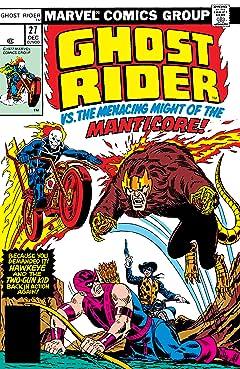 Ghost Rider (1973-1983) #27