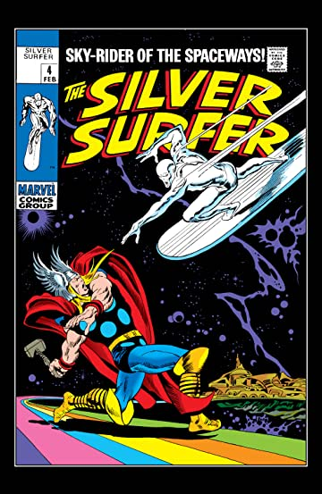 Silver Surfer (1968-1970) #4