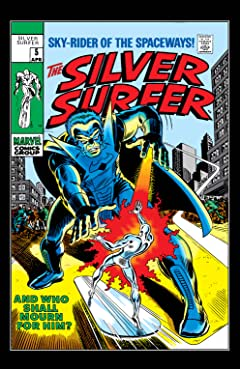 Silver Surfer (1968-1970) #5
