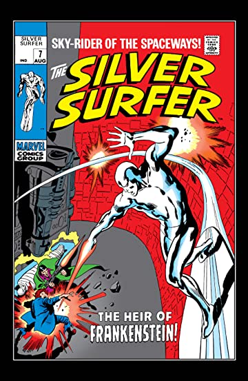 Silver Surfer (1968-1970) #7