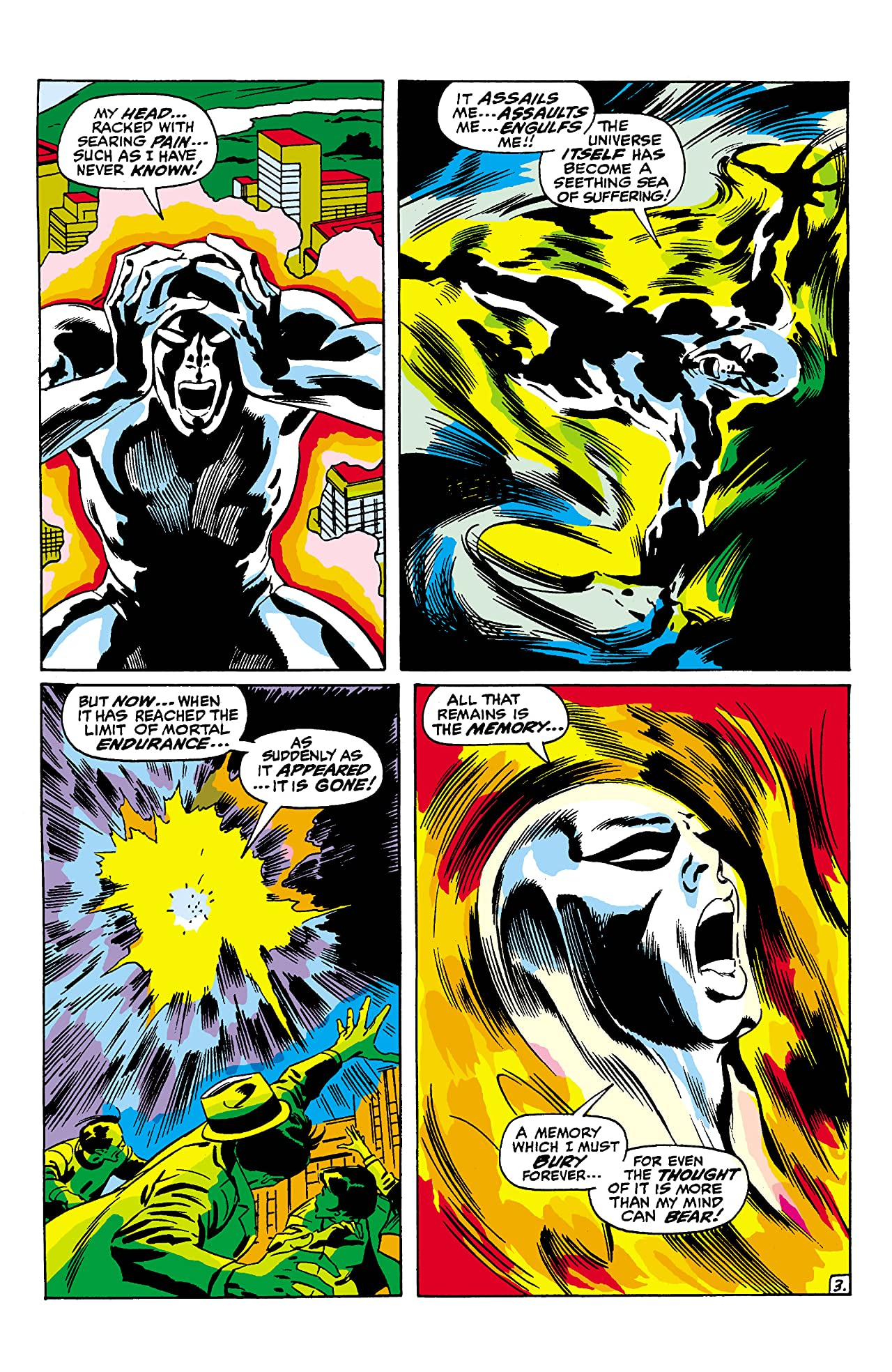 Silver Surfer (1968-1970) #8