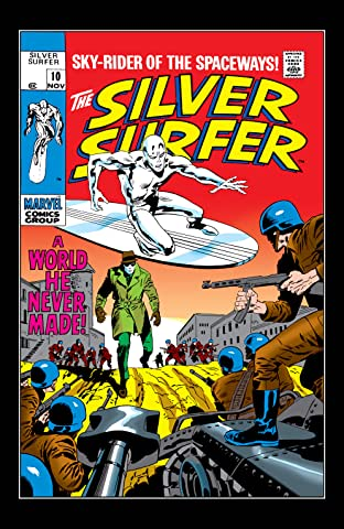 Silver Surfer (1968-1970) #10