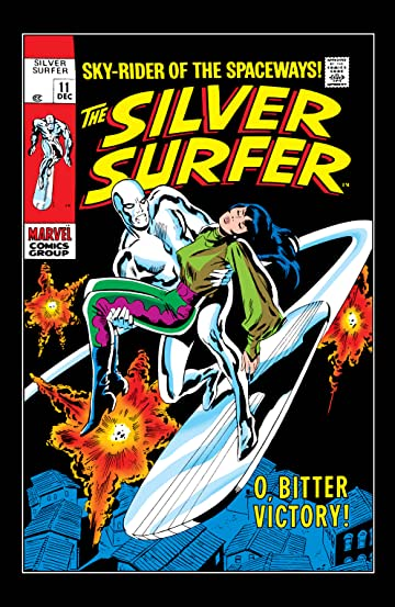 Silver Surfer (1968-1970) #11
